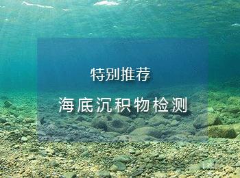 海洋沉积物检测